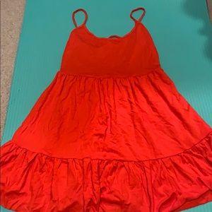 Forever 21 Dresses - Red mini sun dress